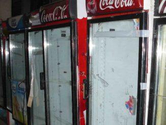 выполняем замену стеклопакетов холодильниках кока кола